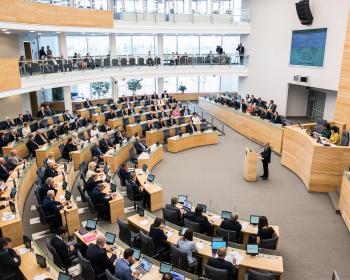 Сейм Літвы прыняў закон аб універсітэтах у вымушаным выгнанні