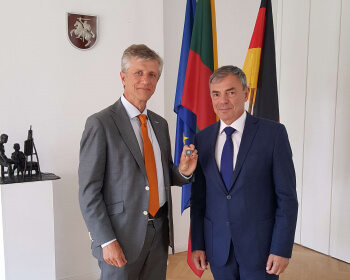 Дасягненні і перспектывы развіцця ЕГУ прадстаўлены ў Берліне