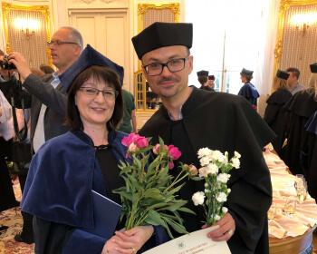 Уладзіславу Іванову быў уручаны дыплом доктара навук